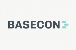 Grafisk design af logo og visuel identitet. Design til hjemmeside – BaseCon