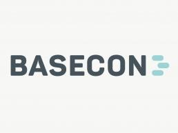 BaseCon - design af logo og visuel identitet. Design til hjemmeside.