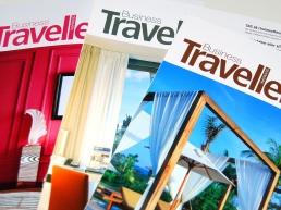 Business Traveller, design, layout og produktion af magasiner, grafisk design, Anette Kjær Larsen