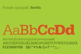 Design af logo og visuel identitet. Kjærs Livskraft - typografi