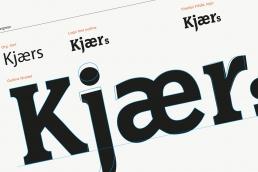 Design af logo og visuel identitet. Kjærs Livskraft - Logo design
