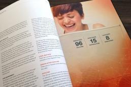Napatech – design, layout og produktion af årsberetninger