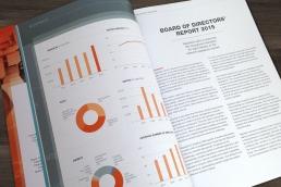årsberetning design, layout og produktion af årsberetninger