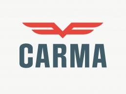Carma Car - logo og visuel identitet til bilforhandler
