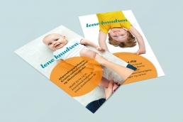 design af logo, visuel identitet, design af visitkort, plakat, design af hjemmeside og gavekort design.
