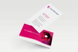 CityCallCenter - visitkort. Design af logo og visuel identitet. Word templates til tilbud og produkter.