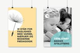 Design af logo og visuel identitet til Per Gyrum Skolen