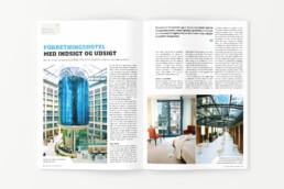 Design og produktion af magasin - Business Traveller