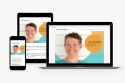Lene Knudsen - design af logo, visuel identitet, design af visitkort, plakat, design af hjemmeside og gavekort design.