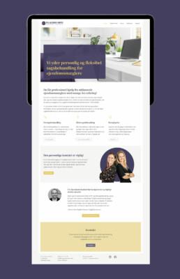 Hjemmeside – Fru Jacobsens Kontor