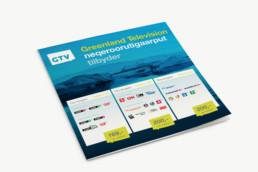 Greenland Television, design af logo, annoncer og programoversigter