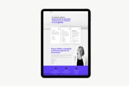 Ibo Consulting – Design af hjemmeside