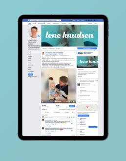 Lene Knudsen - FaceBook administration og markedsføring