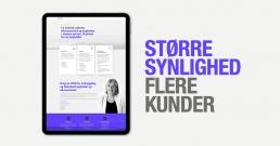 Design af hjemmeside / website – Inger Boye