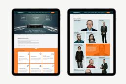 Design af hjemmeside - Napatech