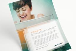 Napatech – design af visuel identitet, logo og annoncer