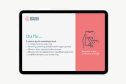 Gode råd PowerPoint. PPT Præsentation. Design af Powerpoint template. PowerPoint skabelon.
